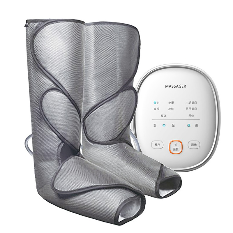 Air Compression Leg Foot Massager Vibration Infrared Therapy Arm Waist Pneumatic Air Wraps 2Modes 2Temp Promote Blood Relax