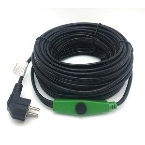 Image 1 - 16 wát/mét Chống đóng băng ống làm nóng cáp ống ngăn đông 220 V làm nóng Cáp Mini inteligent Bộ điều khiển