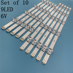 """Image 1 - 1025mm LED bande de Rétro Éclairage 9 LED s Pour LG 49LB620V Innotek DRT 3.0 49 """"Un B 49LB552 49LB629V 6916l 1788A 1789A 49LF620V 49UF6430"""