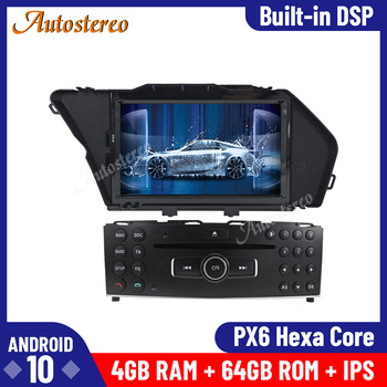 Android 10.0 4+64G Car Radio GPS Navigation Unit for Mercedes Benz GLK X204 GLK300 GLK350 Radio Recorder Multimedia Player Wifi image