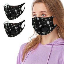 Adulto lavável algodão máscara facial reutilizável anti-poeira anti-cuspir capa protetora respirável boca tampões mascarilla bocas