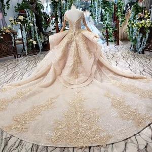 Image 2 - HTL151G plus size evening dress long with skirt off shoulder ruffle layer elegant long evening gowns dubai kaftan robe soirée