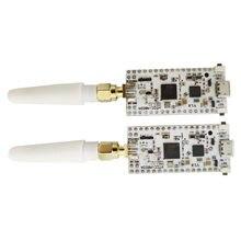 2 peças cubecell lora nó asr6502 lora com 1/2aa bateria caso lorawan nó aplicações para arduino com antena, conector