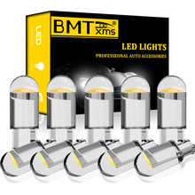 BMTxms 10 adet otomatik T10 W5W LED iç tavan aydınlatması Audi A1 A2 A3 8L 8P 8V A4 b5 B6 B7 B8 A5 8T A6 C5 C6 C7 A8 D2 Q3 8U Q5