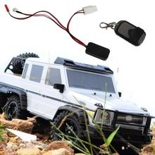 RC Car Winch Wireless Remote Controller Receiver for 1:10 Crawler Axial SCX10