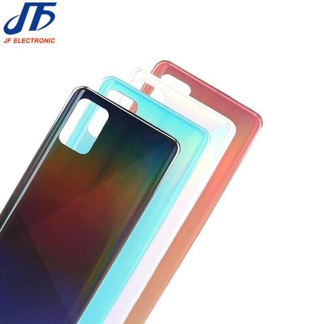 Sostituzione della custodia dellalloggiamento posteriore del pannello 10PCS per Samsung Galaxy A91 A21 A71 A51 A31 A11 A41 coperchio della batteria in plastica adesivo per porta posteriore