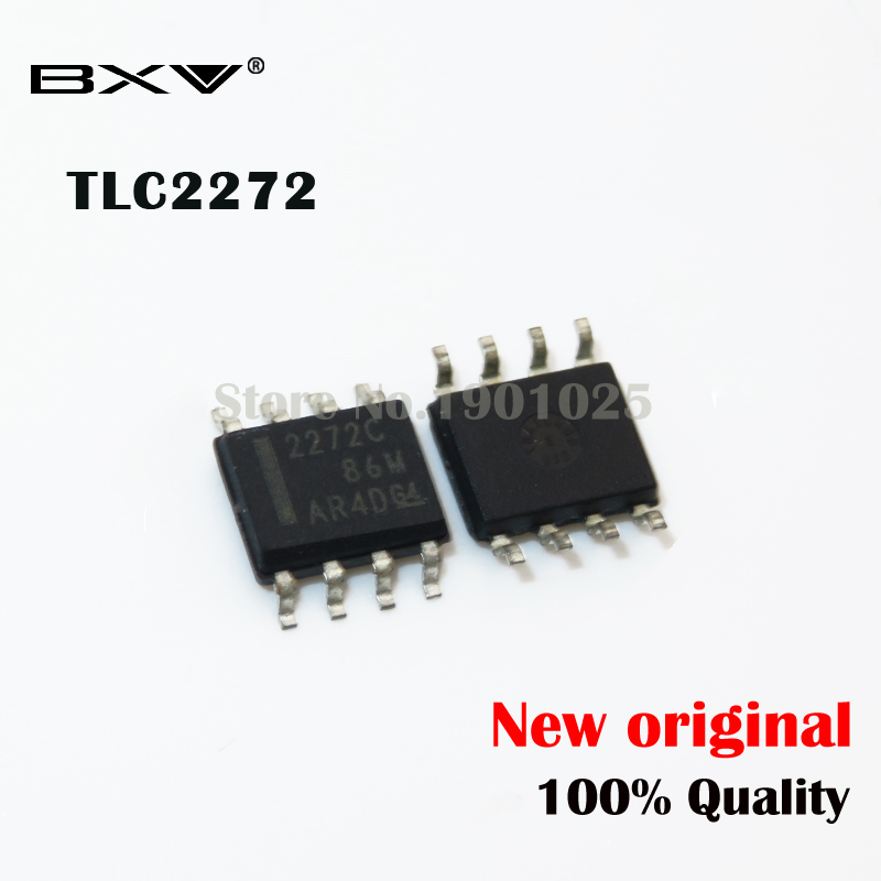 10PCS/LOT TLC2272CDR TLC2272 SOP-8 SMD New Original IC
