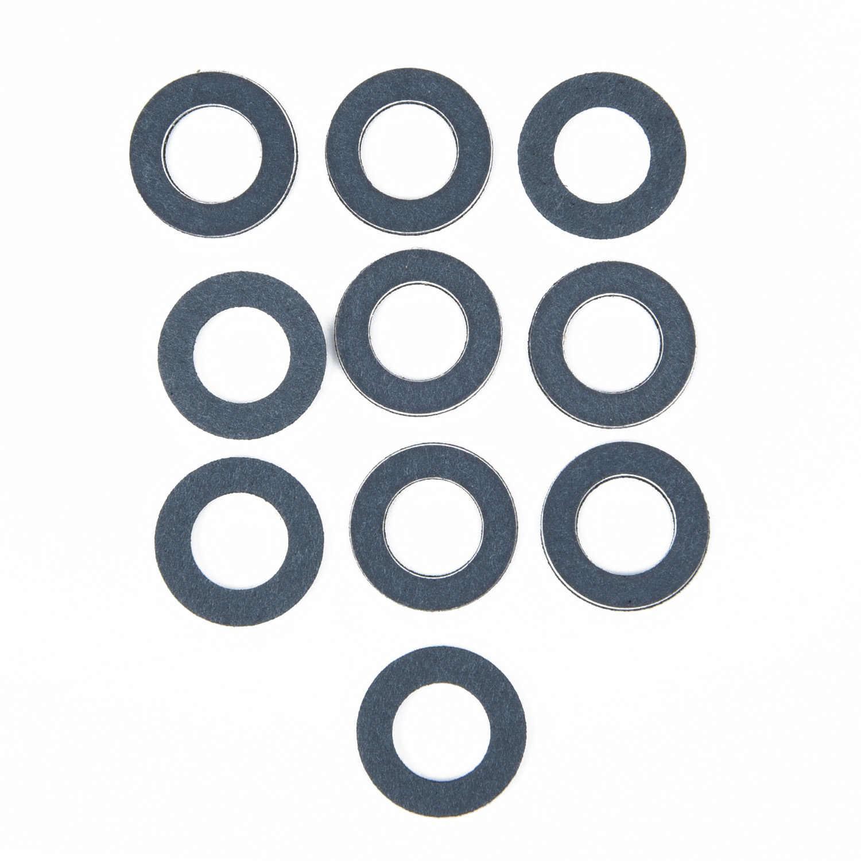 10 Buah Mesin Saluran Minyak Seal Washer Gasket Cincin 90430-12031 untuk Toyota Lexus Keturunan Mesin Cuci Aksesoris Mobil