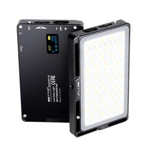 Image 5 - Ajuste de luz de led colorida rgb, luz regulável para vídeo em toda a cor, modo para vlogs, iluminação de fotografia, pocketlite, câmera dslr