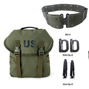 Mochila militar multiusos Alice Butt, bolso de cabestrillo del ejército, bandolera Molle y cinturón con correa de oliva Drab