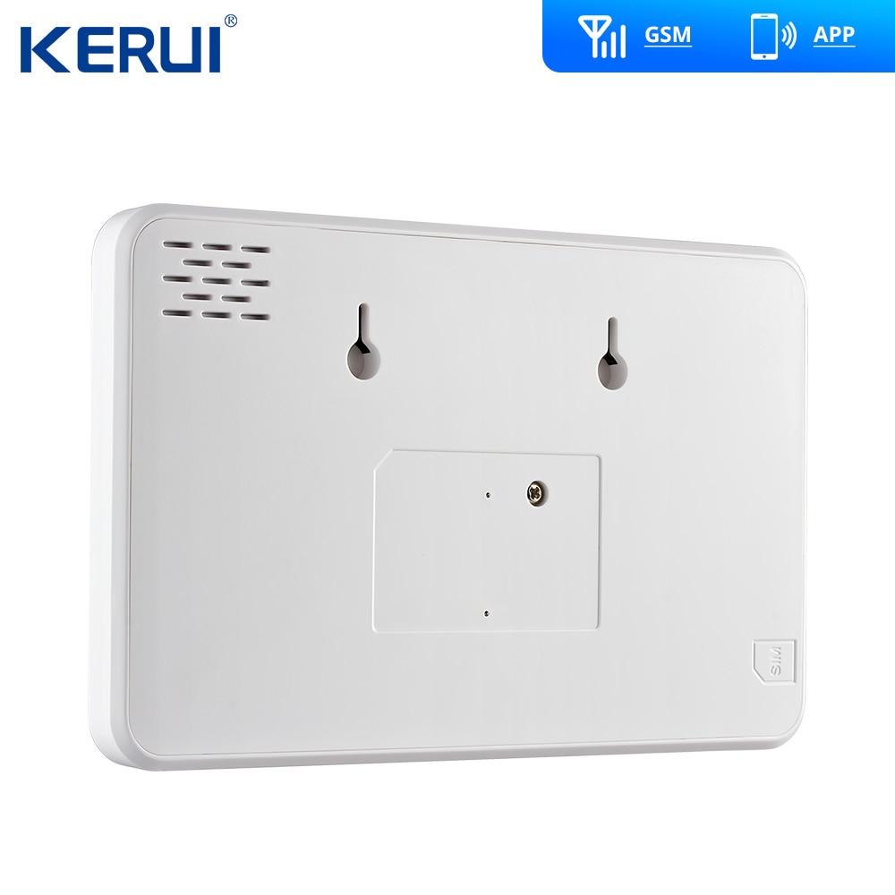 Kerui G18 GSM Alarmanlagen Sicherheit TFT Android IOS APP Touch tastatur Smart Home Einbrecher Alarm System DIY Bewegung sensor - 3