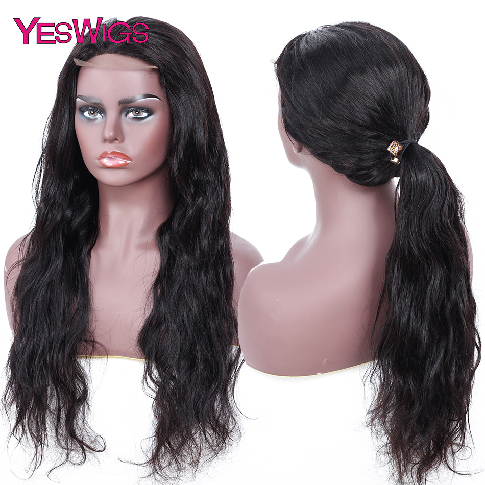 lace closure wig human hair lace front wigs with baby hair  (2)