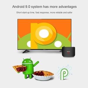 Image 4 - Boîtier hybride Mecool M8S PLUS S2 Android9.0 DVB S2 boîtier de télévision par Satellite Amlogic S905X2 2GB 16GB Support 4K M8S PLUS DVB boîtier Combo KM3