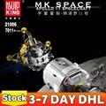 MOC-26457 пресс-форм King 21006 Аполлон космический корабль строительные блоки в собранном виде Наборы кубиков звезды креативные модели развивающи...