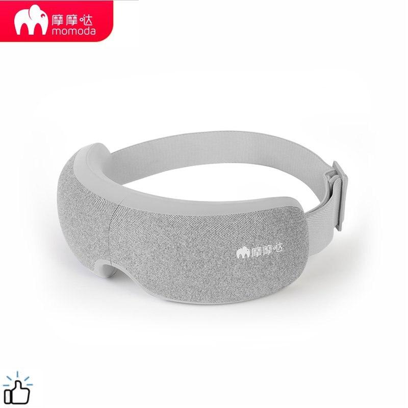 Momoda 5V 5W 3Modes Rechargeable Folding Eye Massager Graphene Thermostatic Heating Kneading Smart Eye Mask