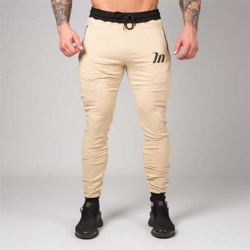 Sportswear Gyms Pants Mens Tracksuit Casual Pant Male Fitness Workout Pants Sweatpants Trousers Jogger Pants