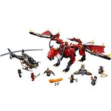 New Ninjagoes Movies Flame Spys Shadow Dragon Compatible legoergy Ninjagoerg 70653 70652 Building Blocks Bricks Toys for Childre