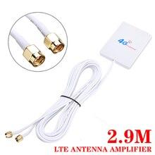 28dBi Gain Antenna 4G LTE Router Modem Aerial External Antenna Signal Booster Amplifier Mobile Signal Router For HUAWEI B880 gps active internal antenna 28dbi high gain navigation aerial booster ipex 2