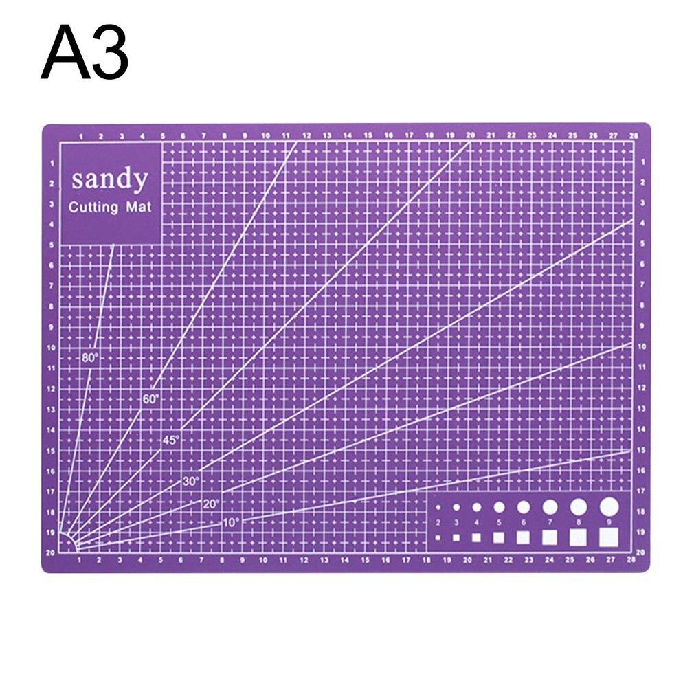 A3 Cutting Mat Cutting Underlay A3 Cutting Board Cutting Plate Handmade Tool For Hand Form Block Durable PVC Material Dropship