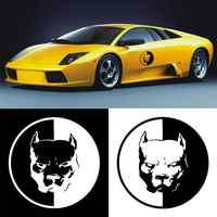 Waterproof Pitbull Dog Bulldog Car Sticker Decoration Decal Auto Styling Car Sticker Decoration Decal Auto Styling Car Sticker