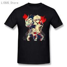 Alluka e gon hunter x hunter t-camisa de manga curta casual masculino o pescoço 100% algodão t camisa t topo