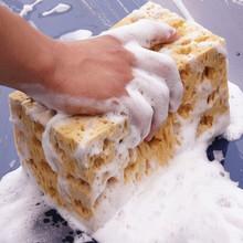 Chłonna gąbka koralowa o strukturze plastra miodu makroporowaty samochód Auto gąbka do mycia blok o strukturze plastra miodu szmatka do czyszczenia samochodu żółty środek do mycia samochodów narzędzia tanie tanio Vinkkatory CN (pochodzenie) 17cminch 20gkg 11cminch 9cminch Sponge Car Cleaning Sponge Coffee Natural shape safe and scratches