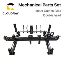 Cloudray Mechanical Parts Set 1300mm*900mm Single Double Head Laser Kits Spare Parts for DIY CO2 Laser 1390 CO2 Laser Machine