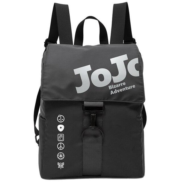 JoJo's Fans Bizarre Adventure Dio Jotaro Kujo Joseph Anime Schoolbag Student Backpack Japanese Waterproof Travelbag