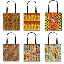 Style Handbag Tote-Bag Shoulder Printing Females Girls African Women Ladiestraditional