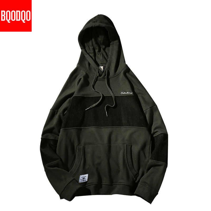 Übergroßen Schwarz Patchwork Drucken Sweatshirts Männer Hip Hop Punk Rock Streetwear Pullover Männlichen Oansatz Mode Casual Sweatshirt 5XL