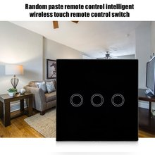 цена на Free Stickers Remote Control Smart Wireless Touch Remote Control Switch Intelligent 86 Type Touch Switch