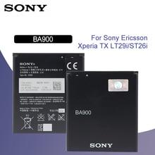 SONY Original BA900 Battery 1700mAh For SONY Xperia E1 S36H ST26I AB-0500 GX TX LT29i SO-04D C1904 C2105 Replacement Batteria sony original phone battery ba900 1700mah for sony xperia e1 s36h st26i ab 0500 gx tx lt29i so 04d c1904 c2105 retail package