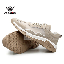 Vosonca 2019 New Mesh Men Shoes Men Casual Shoes Outdoor Sports Shoes Comfortable Breathable Sneakers mizuno wave prophecy 7 professional men shoes outdoor sneakers breathable mesh weightlifting shoes 3 color best