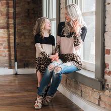 Платья для мамы и дочки семейные одинаковые наряды с длинным