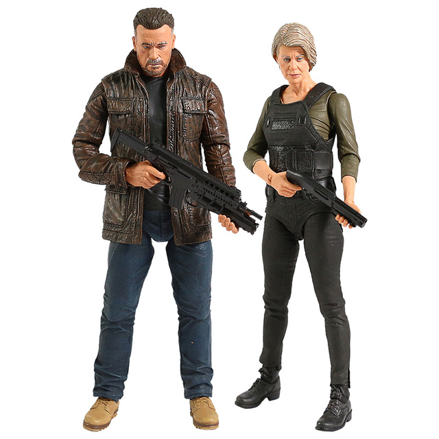NECA Terminator 6 темная судьба старый телефон/Сара Коннер экшн фигурка Коллекционная модель игрушка