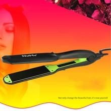 Professional Hair Straightener Curler Hair Flat Iron Negative Ion Infrared Hair Straighting Curling Iron