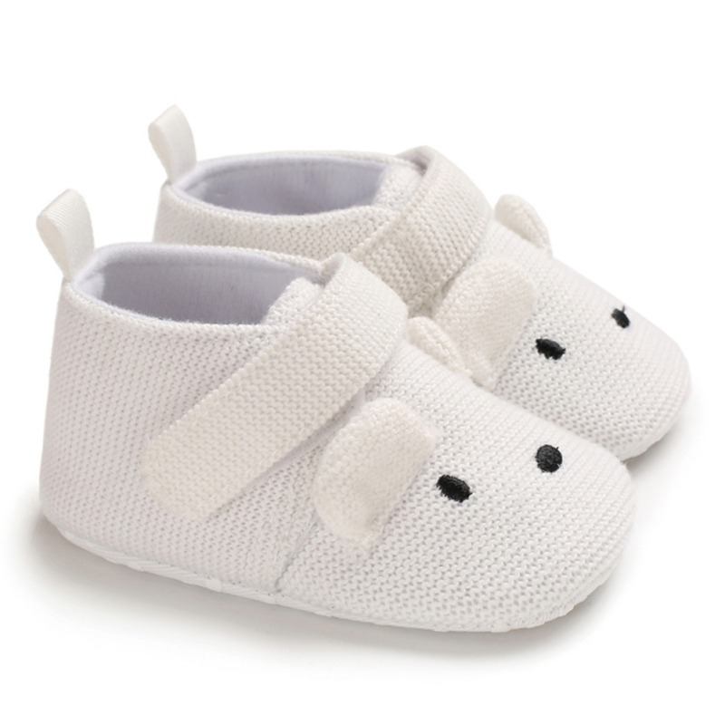 0-18M Cute Infant Kid Boy Girl Shoes Soft Sole Cotton Shoes Toddler Shoes Baby Girl First Walkers
