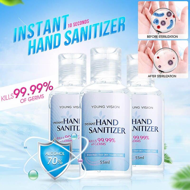 Hand Sanitizer Disinfection Alcohol Hand Wash Gel Quick Dry Handgel Gel Hydroalcolique Hand Sanitizer Gel 99.9% Antibacterial
