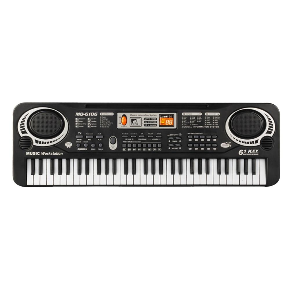 eletrônico crianças piano musical brinquedo de ensino