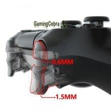 Clicky personalizado flashshot cabelo trigger stop kit cabo flexível para ps4 magro pro controlador JDM-040/050/055