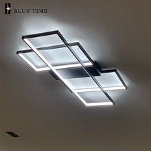 Black Metal Led Ceiling Lamp Home Modern Ceiling Light For Living room Dining room Bedroom Kitchen Indoor Lighting Fixtures цена 2017