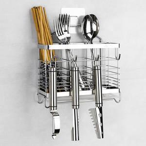 Holder-Tool Shelf-Stand Cutlery-Drying-Rack Chopsticks Kitchen 304-Stainless-Steel Fork