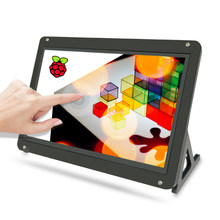 7 zoll Kapazitiven Touchscreen wich Fall, 1024x600 Ultra HD HDMI Monitor Display-Unterstützt Raspberry Pi, banana Pi Windows