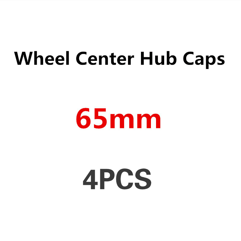 4PCS 65mm Car Wheel Center Cover Wheel Hub Cap For VW Passat B5 B6 B7 Beetle T4 T5 Touran Bora Caddy Boost Polo Golf 3 4 5 6 7 image