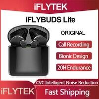 IFLYTEK originale iFLYBUDS Lite TWS cuffie con registrazione intelligente auricolari Bluetooth Wireless chiamata riduzione del rumore trasmissione istantanea