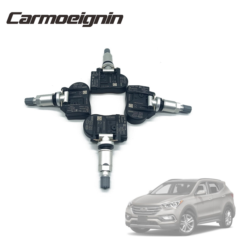 4 piece Replace 52933-3N100 Tire Pressure Monitor System Tire Pressure Sensor For Hyundai For Kia Tire TPMS Sensor <font><b>529333N100</b></font> image