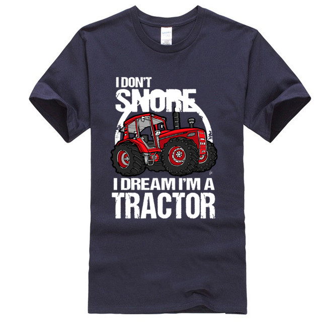 NEW HOLLAND BLUE FARM EMBROIDERED TRACTOR red Kids crew neck Children/'s T Shirt.