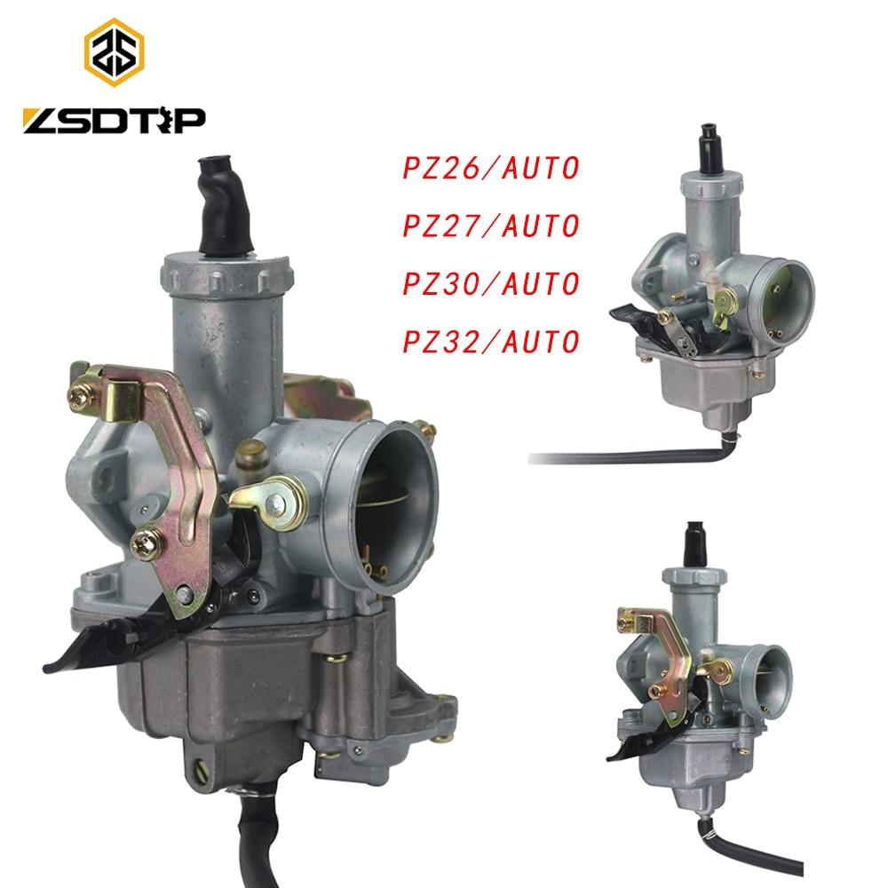 Карбюратор ZSDTRP PZ26 PZ27 PZ30 PZ32, карбюратор для мотоцикла Honda CG125 и других моделей мотоциклов PZ30 VM26