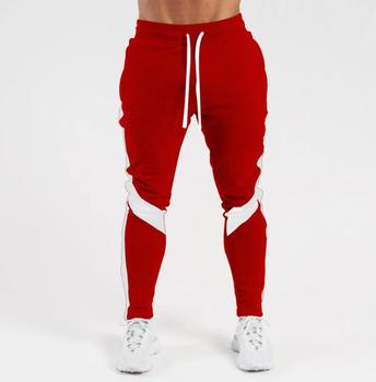 Men's joggers casual pants fitness men's sportswear sportswear bottoms tight-fitting sports pants trousers gym jogging sports pa image