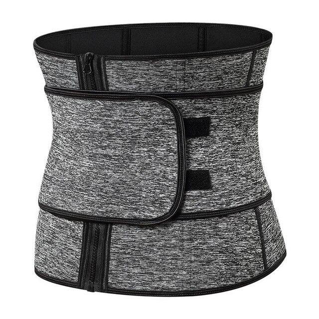 Steel Boned Waist Corset Trainer Sauna Sweat Sport Girdle Cintas Modeladora Women Weight Loss Lumbar Shaper Workout Trimmer Belt 1